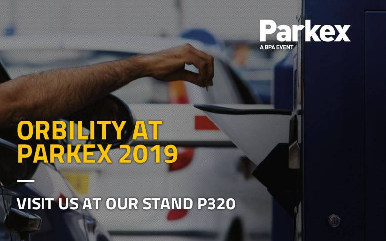 Orbility will be at Parkex 2019 in Birmingham